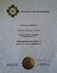 Fire Inspector Level II